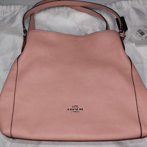 Coach Edie 31 Pebble Leather Shoulder Bag